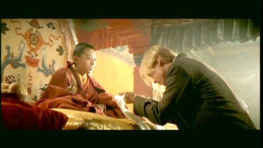 Výsledek obrázku pro olser tibet brad pitt dalajláma