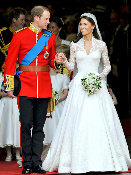 Kate and Wills/Royal Brides then and now... (1/6)