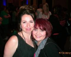 Delilah Marvelle and I at RT's in Chicago 2012