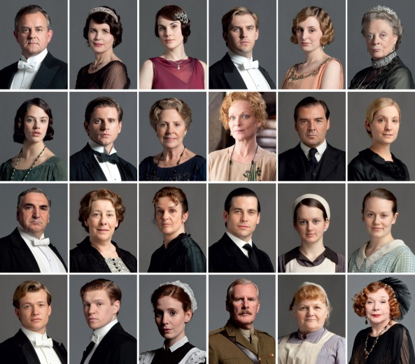 Downton Abbey Family