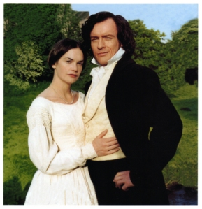 Ruth Wilson and Toby stephens as Mr Rochester and Jane Eyre 2006