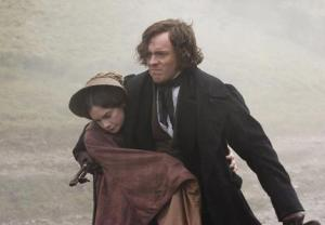 Toby Stephens and Ruth Wilson as Christian and Maddy from Flowers From the Storm