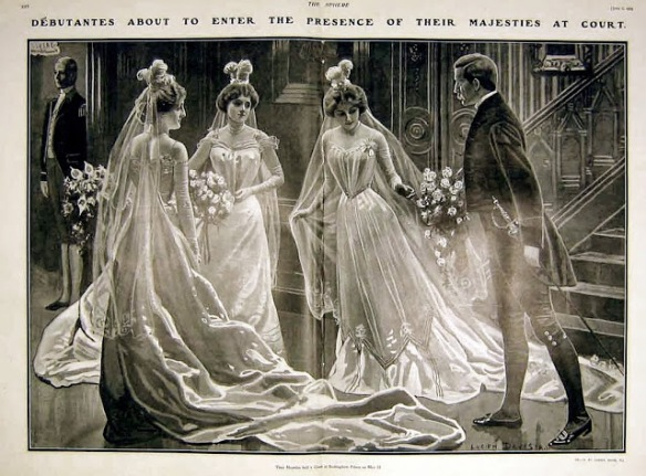 Debutantes readying to meet royalty[1]