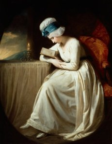 Serena reading, 1780-85 Poster Art Print by George Romney