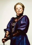 Maggie Smith as Aunt Bea from The Winter Bride by Anne Gracie