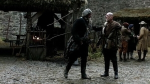 Stablemaster Old Alec greets Dougal
