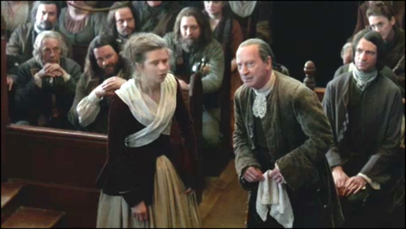 He destroys the first witnesses testimony ... the wee beasom servant wench!