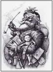 Nast 1881 santa portrait