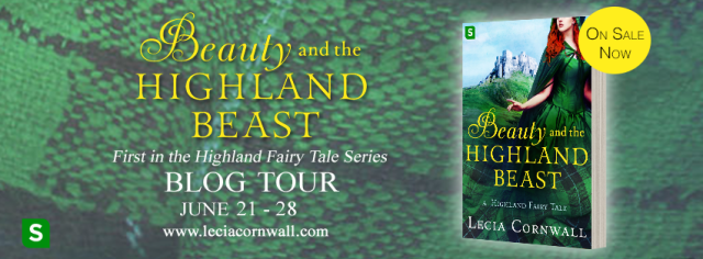 Beauty and the Highland Beast Blog Tour Banner