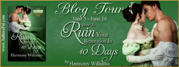 How to Ruin Your Reputation in 10 Days Tour Banner