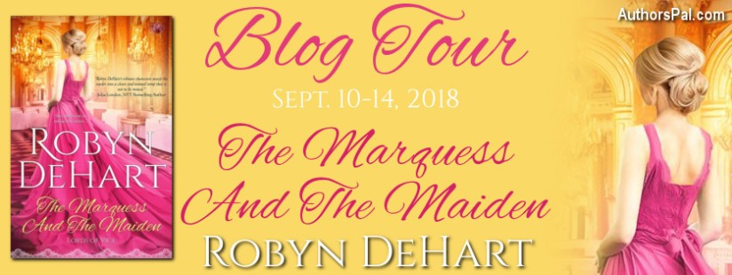 Robyn DeHart Blog Tour Banner