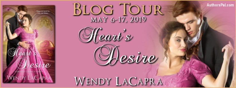 Wendy LaCapra's Heart Desire Tour Banner NEW
